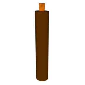 GXL Primary Wire 14 AWG XLPE Insulated, 60V, Brown