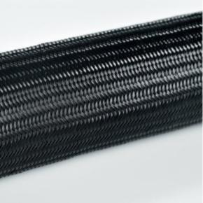 Expandable Sleeve, Nylon 6.6, Black