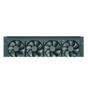 """Rack Fan, 8.715""""x22.378"""", 276CFM, Steel"""