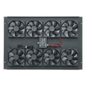 """Rack Fan, 15.718""""x22.378"""", 552CFM, Steel"""