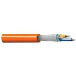 Profibus Cable, 18 AWG, Shielded, 2 Conductor, 300V, Orange