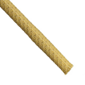 """Expandable Sleeve, Size 1-1/4"""", Aramid /Tinned Copper, Yellow"""