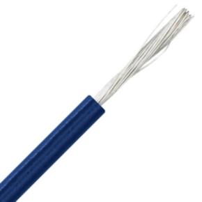 H05V-K <HAR> International Lead Wire, 22, 500V, PVC Insulated, Dark blue