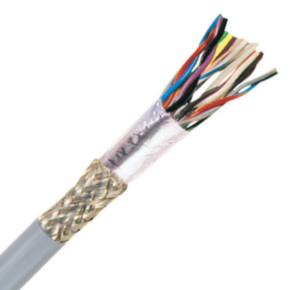 Power Limited Tray Cable, 22 AWG, Gray