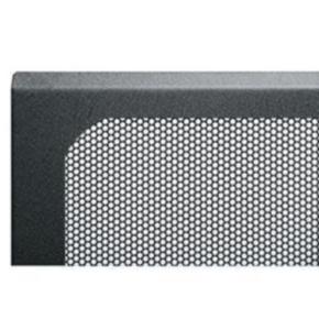 """Panel, 18.373""""x20.037"""", 10U, Steel, Black"""