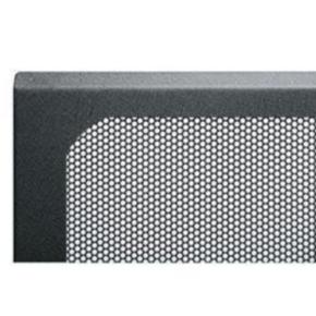 """Panel, 62.123""""x20.037"""", 35U, Steel, Black"""