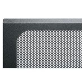 """Panel, 65.623""""x20.037"""", 37U, Steel, Black"""