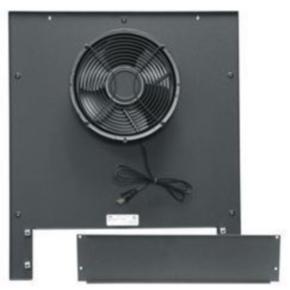 """Rack Fan, 25.06""""x21.70"""", 550CFM, Steel"""