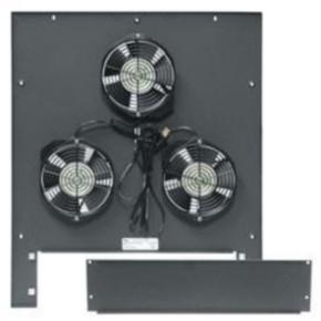 """Rack Fan, 25.06""""x21.70"""", 660CFM, Steel"""