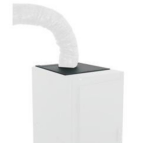 """Rack Duct Cooler System, 25.06""""x21.70"""", Steel"""