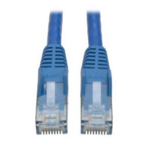 12' Network/LAN Patch Cord, Cat 6, M - M, RJ45/RJ45, Blue