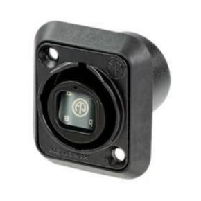 Fiber Optic Adapter, LC to LC, Black