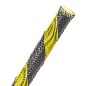 "Expandable Sleeve, Size 3/8"", PET, Safety stripe"