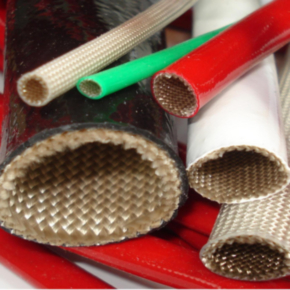 Expandable Sleeve, Silicone, Size #3, Fiberglass, White