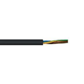 H07RN-F <HAR> Portable Cord, 14 AWG, 50 Strand, 4C, Neoprene, Black
