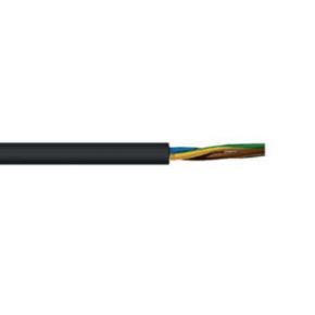 H07RN-F <HAR> Portable Cord, 1.5MM2 AWG, 30 Strand, 3C, Neoprene, Black