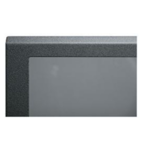 "Panel, 70.87""x20.40"", 40U, Steel, Black Textured Powder Coat"
