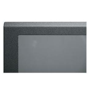 """Panel, 79.62""""x20.40"""", 45U, Steel, Black"""