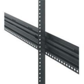 "Pair Rack Rail, 64.75""x1.406"", 37U, Steel"
