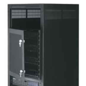 "Panel, 14""x19"", 8U, Plexi-Glass, Black Powder Coat"