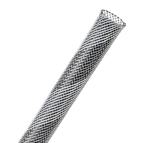 "Expandable Sleeve, Size 1/4"", PET, Gray/white"