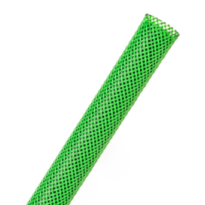 """Expandable Sleeve, Size 1/4"""", PET, Neon green"""