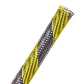 "Expandable Sleeve, Size 1-1/2"", PET, Safety stripe"