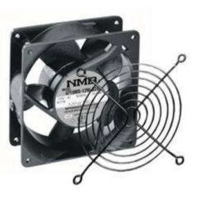 """Rack Fan, 4.69""""x4.69"""", 50CFM"""