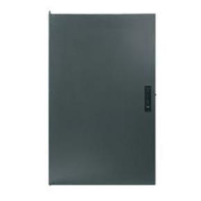 """Panel, 3.50""""x19"""", 2U, Steel, Black"""