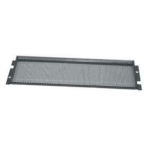 """Panel, 5.25""""x19"""", 3U, Steel, Black"""