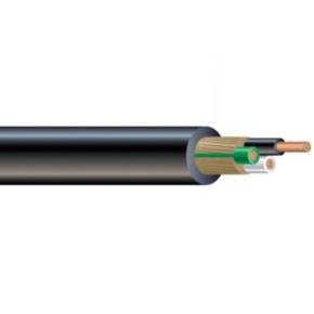 UL STOW Portable Cord, 10 AWG, 104 Strand, 4C, PVC, Gray