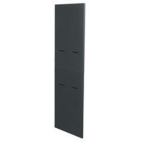 """Panel, 83.06""""x41.54"""", 44U, Steel, Black"""