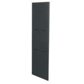 """Panel, 82.876""""x0.625"""", 45U, Steel, Black"""