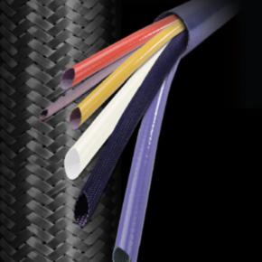 """Expandable Sleeve, Vinyl, Size 1"""", Fiberglass, Yellow"""