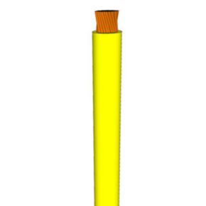 1/0 AWG, UL 1284 Lead Wire, 259 Strand, 105C, 600V, PVC, Yellow