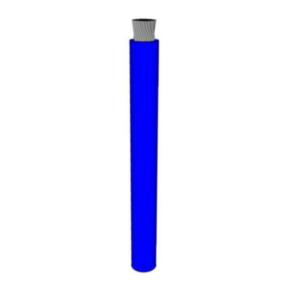 1/0 AWG, UL 1284 Lead Wire, 1064 Strand, 105C, 600V, PVC, Blue