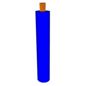 10 AWG, UL 1060 Lead Wire, 105 Strand, 105C, 600V, PVC, Blue