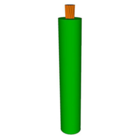 GXL Primary Wire 20 AWG XLPE Insulated, 60V, Dark green