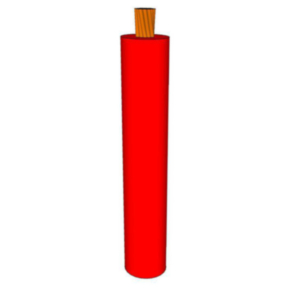 GXL Primary Wire 18 AWG XLPE Insulated, 60V, Red