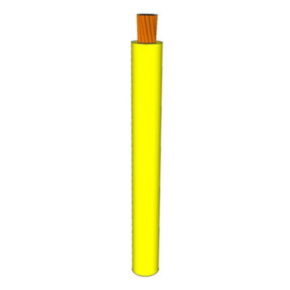 GPT Primary Wire 10 AWG PVC Insulated, 60V, Yellow