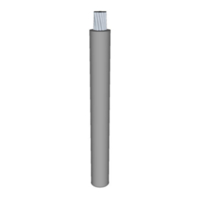 M16878/1 Lead Wire, 14 AWG, PVC Insulated, 600V, Gray