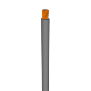 10 AWG, UL 1015 Lead Wire, 105 Strand, 105C, 600V, PVC, Gray