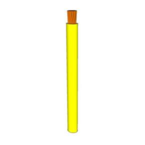 10 AWG, UL 1015 Lead Wire, 105 Strand, 105C, 600V, PVC, Yellow