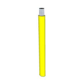 12 AWG, UL 1015 Lead Wire, 65 Strand, 105C, 600V, PVC, Yellow