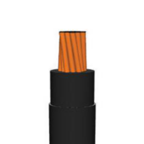 10 AWG UL THHN Building Wire, Bare copper, 19 Strand, PVC, 600V, Black