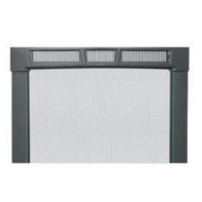 """Panel, 69.23""""x22"""", 38U, Steel, Black"""